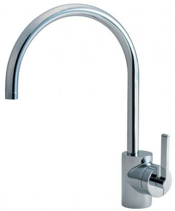 Ideal Standard Silver kitchen mixer tap E0083AA. Chrome finish. Sink